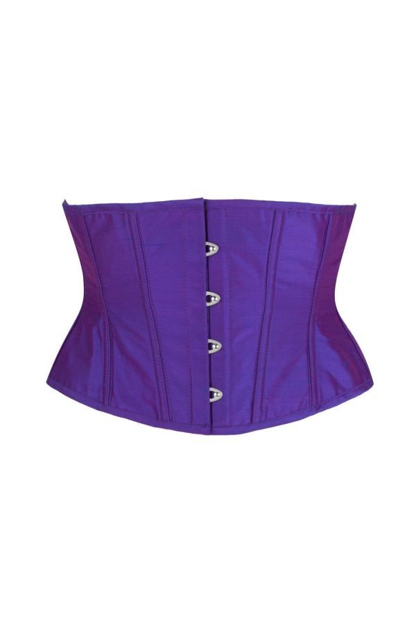 Kiss me Deadly Silk Day Corset