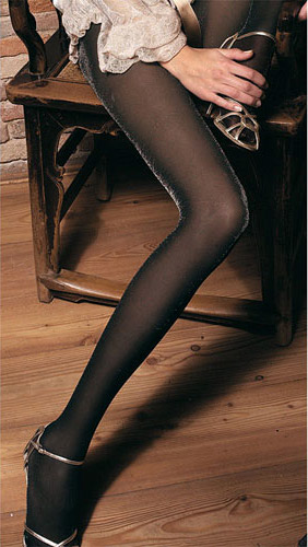 Trasparenze Diamante Metallic Tights