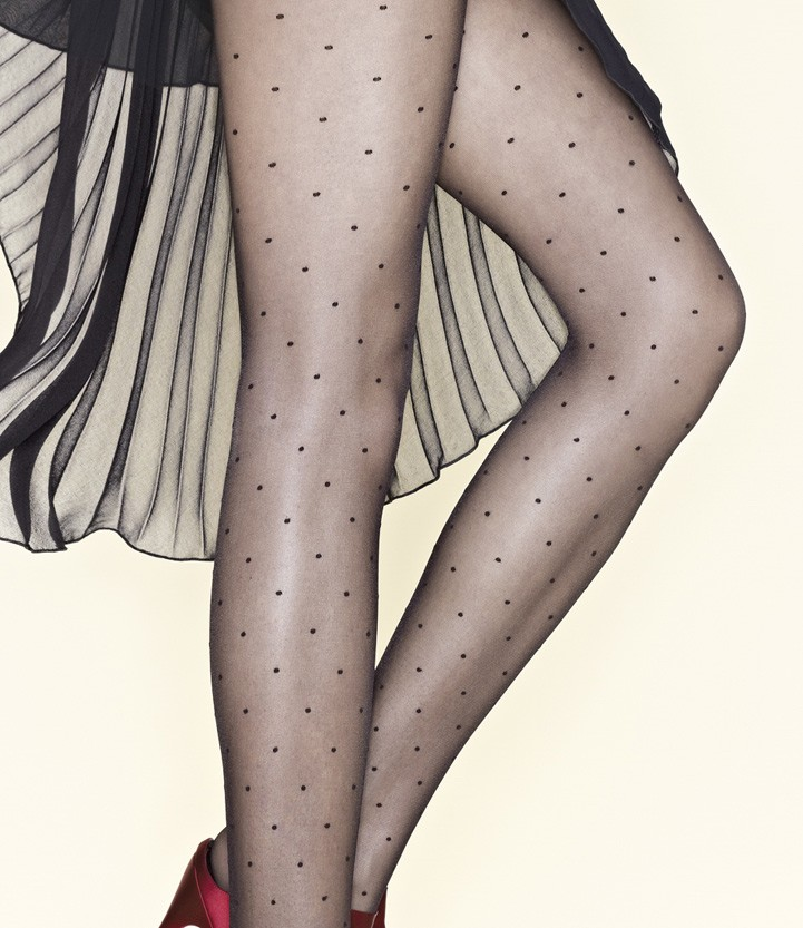 Gerbe Plumetis Polka Dot tights
