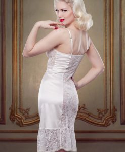 Betty Blues Ivory Lace Bridal Slip Dress
