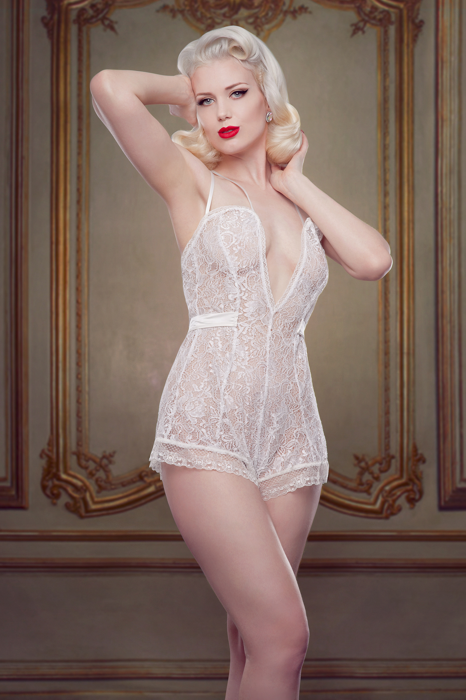 Betty Blues Bridal Ivory Teddy