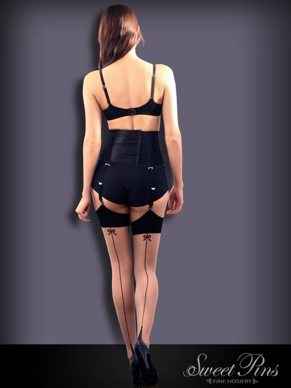 Sweet Pins Seamed Stockings