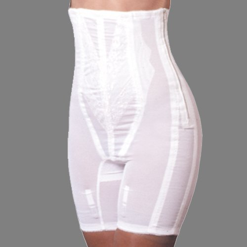 Rago High Waist Half Leg Shaper with Zipper - Style 6210