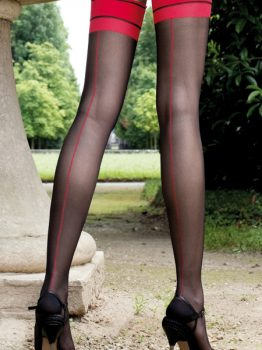 Trasparenze Jessy Contrast Seamed Stockings
